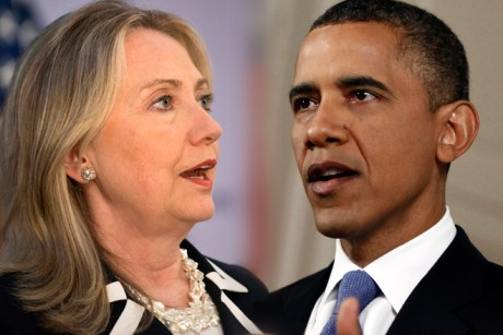 US Secretary of State Hillary Clinton and President Barack Obama have yet to deliver an adequate accounting of what went wrong at the US consulate in Benghazi, Libya. Credit: AP